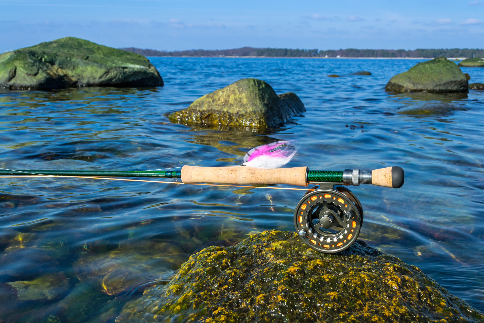 Saltwater fly fishing picking the best reel and cast for Salt water fly fishing